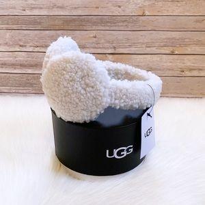 UGG Ivory Sherpa Earmuffs